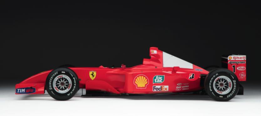 Formula 1 aracı rekor fiyata satıldı