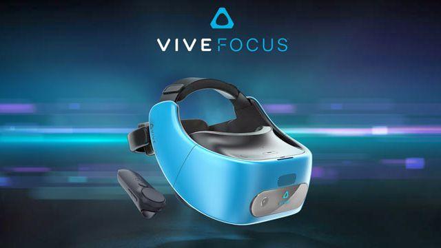 Kablolardan arınan HTC Vive Focus