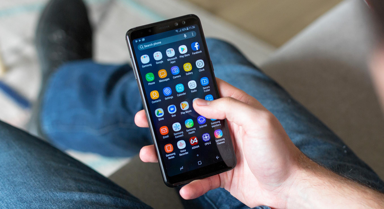 Galaxy A8 (2018) Touchwiz