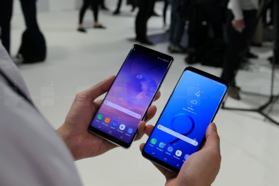 galaxy s9 plus ve galaxy note8