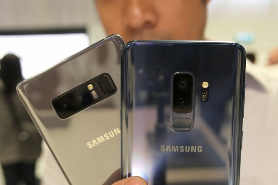 galaxy s9 plus ve galaxy note 8