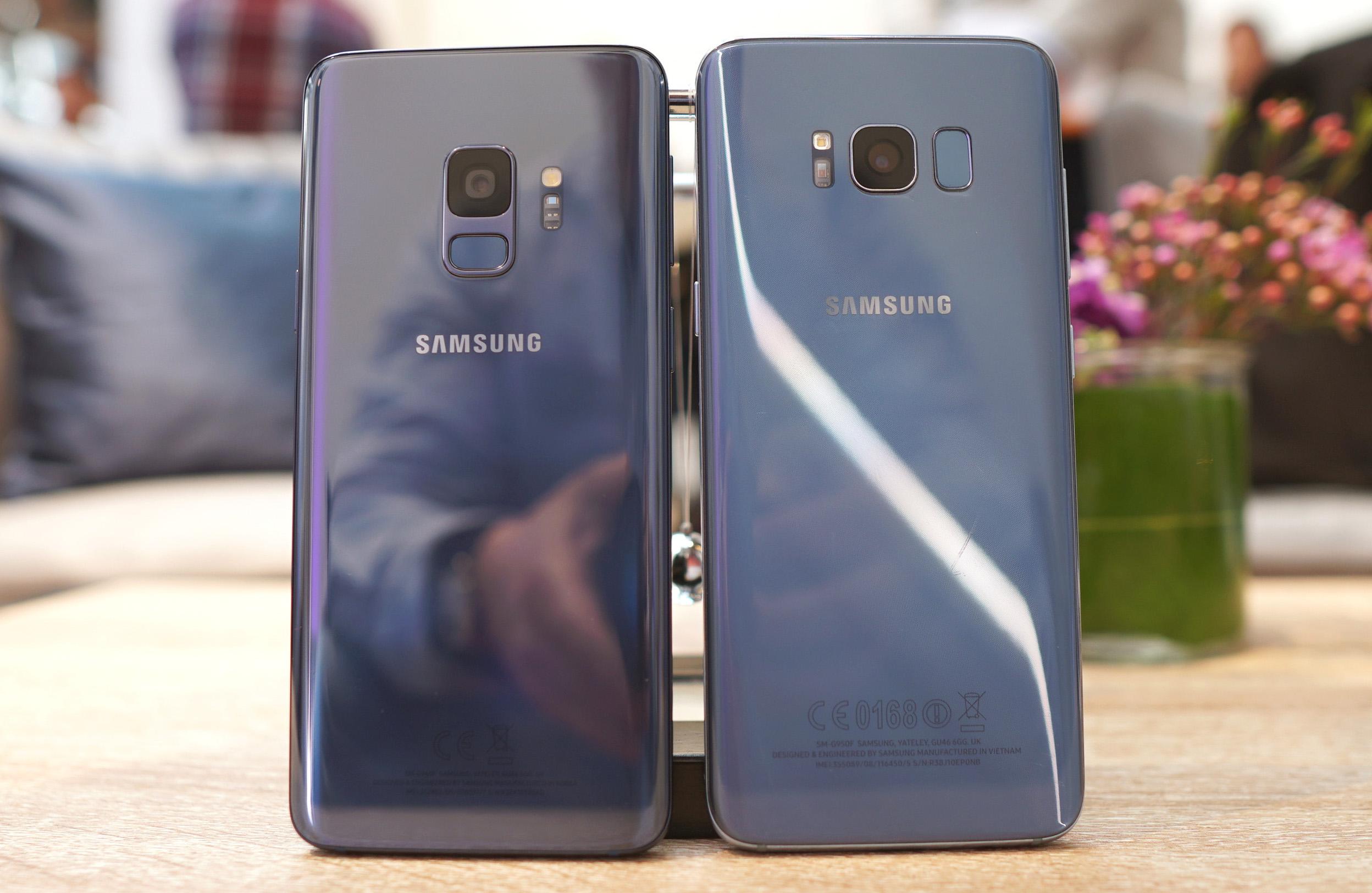 Galaxy S9 - Galaxy S8 Kamera