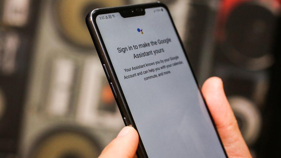 Google Assistant düğmesi