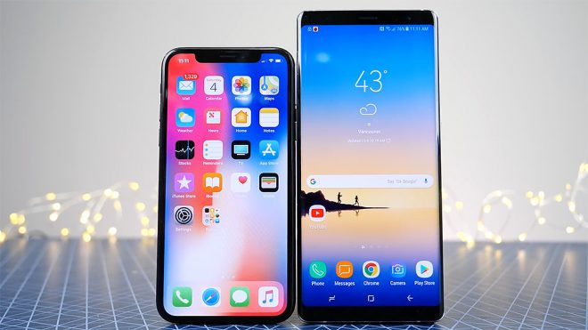 iPhone X Galaxy Note 9'u ezdi geçti