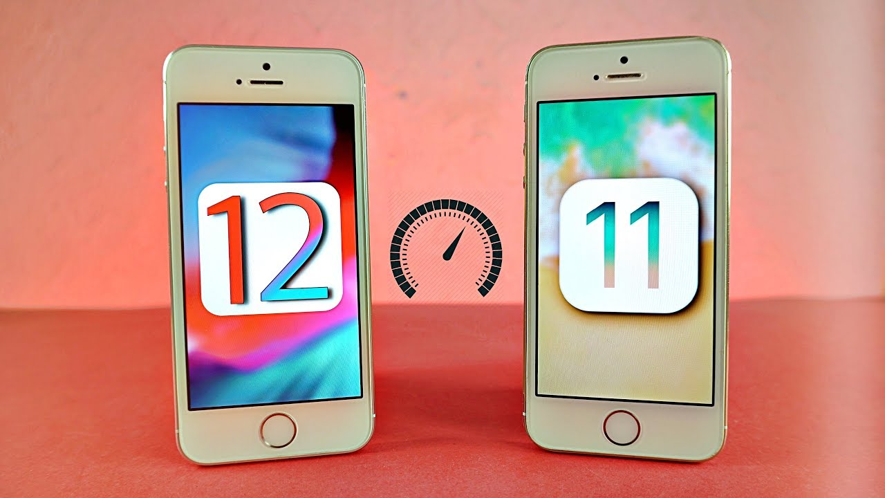 iOS 12 ne kadar hızlı Video