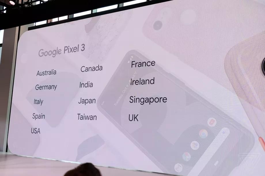 Google Pixel 3 Türkiye