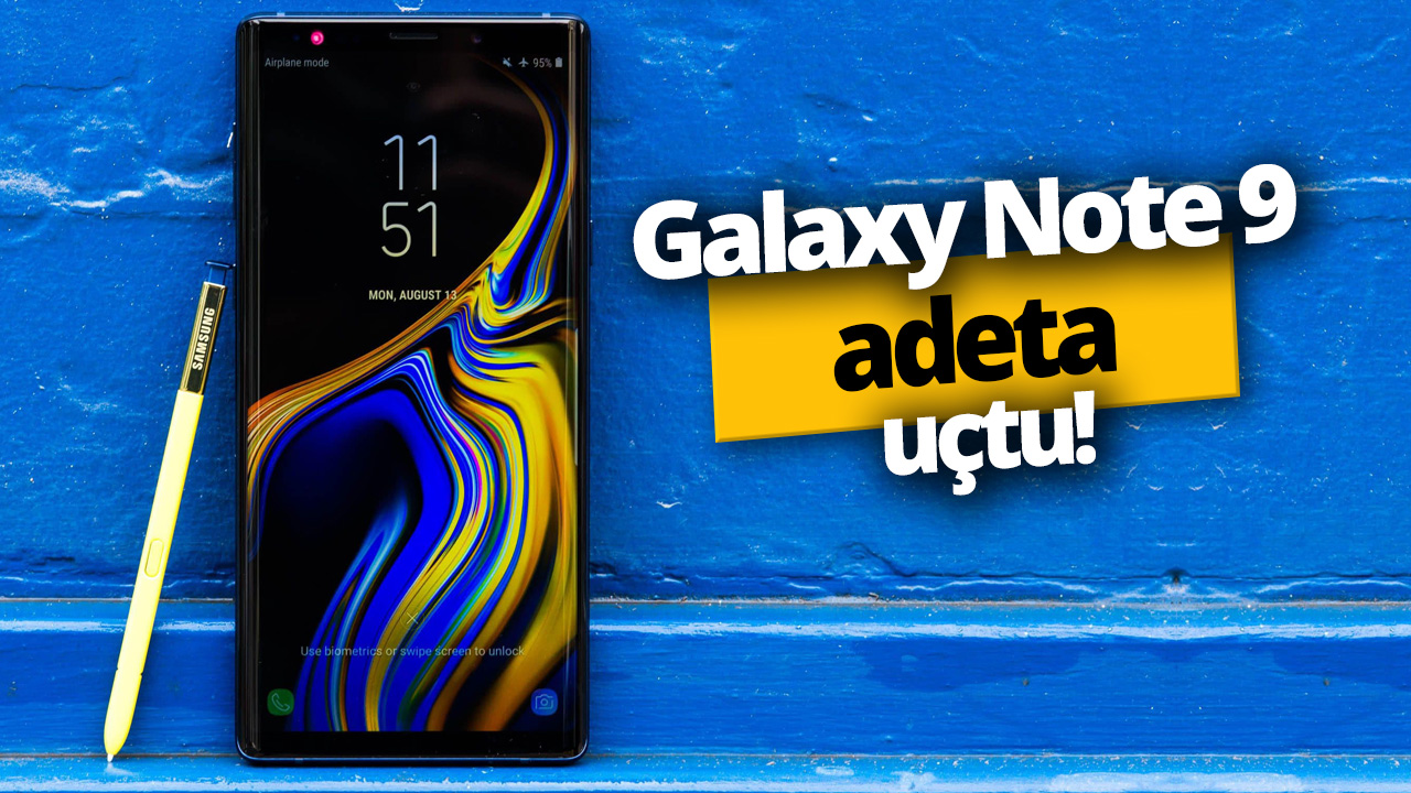 Galaxy Note 9 flew to the Android Pie!