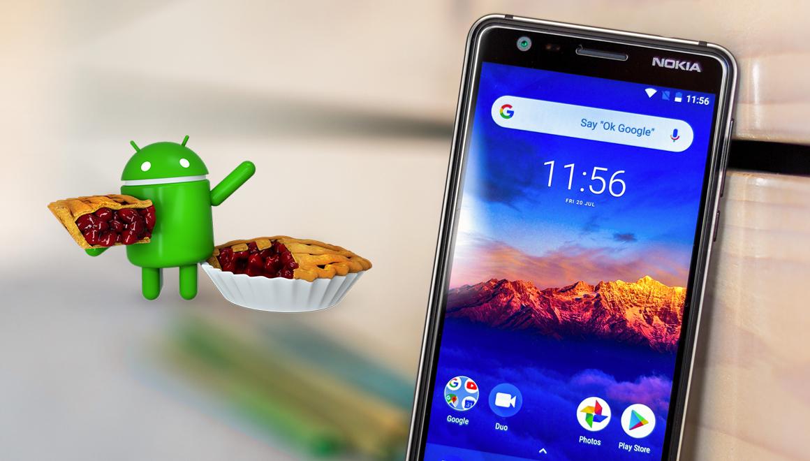 Nokia 3.1 için Android Pie yayınlandı!