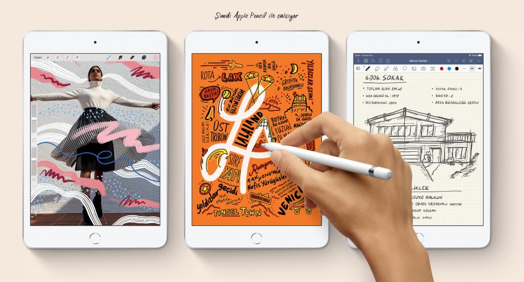 Apple iPad Mini 5 ve iPad Mini 4