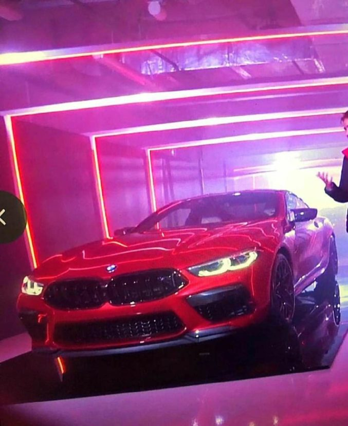 BMW M8 Competition 2