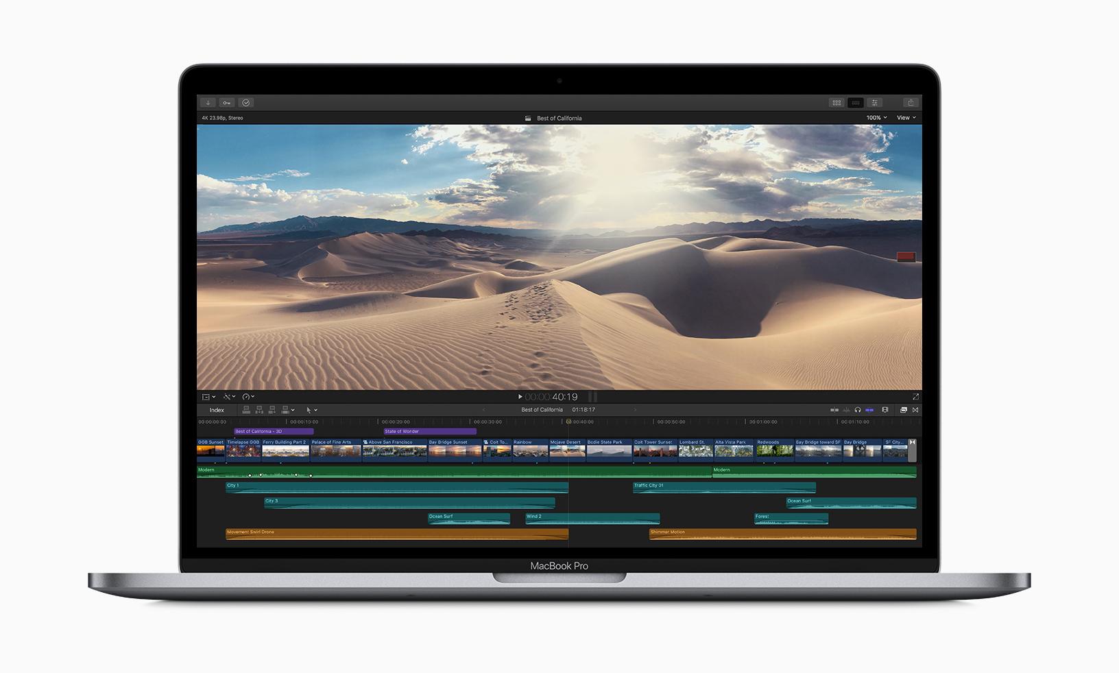 Sekiz çekirdekli 2019 Macbook Pro tanıtıldı!