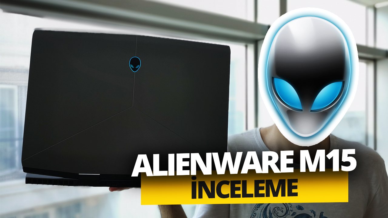 RTX 2070'li Alienware M15 inceleme! (Video)