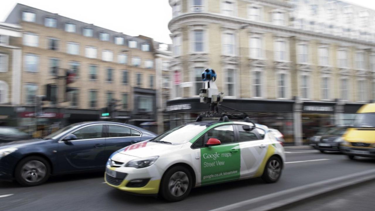 Google'ın aracı bu kez kendi kazasını kaydetti