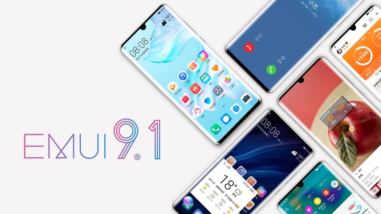 Temmuz ayında EMUI 9.1 alacak beş Huawei modeli