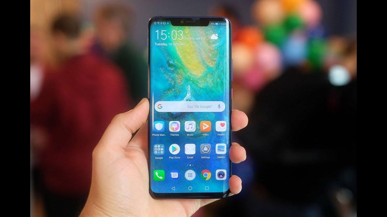 Huawei Mate 30 Pro'nun ekran paneli sızdırıldı