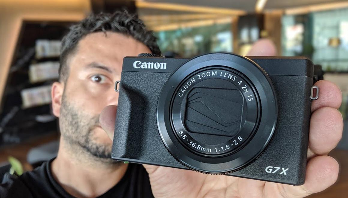 Canon PowerShot G7X Mark 3 - vLog için en iyisi mi?