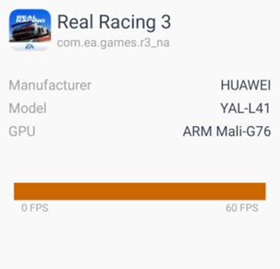 Honor 20 Pro Real Racing 3