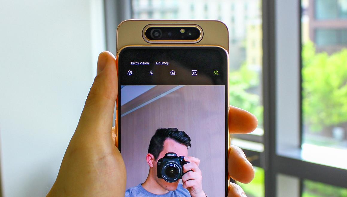 Samsung Galaxy A80'in fiyatı ortaya çıktı