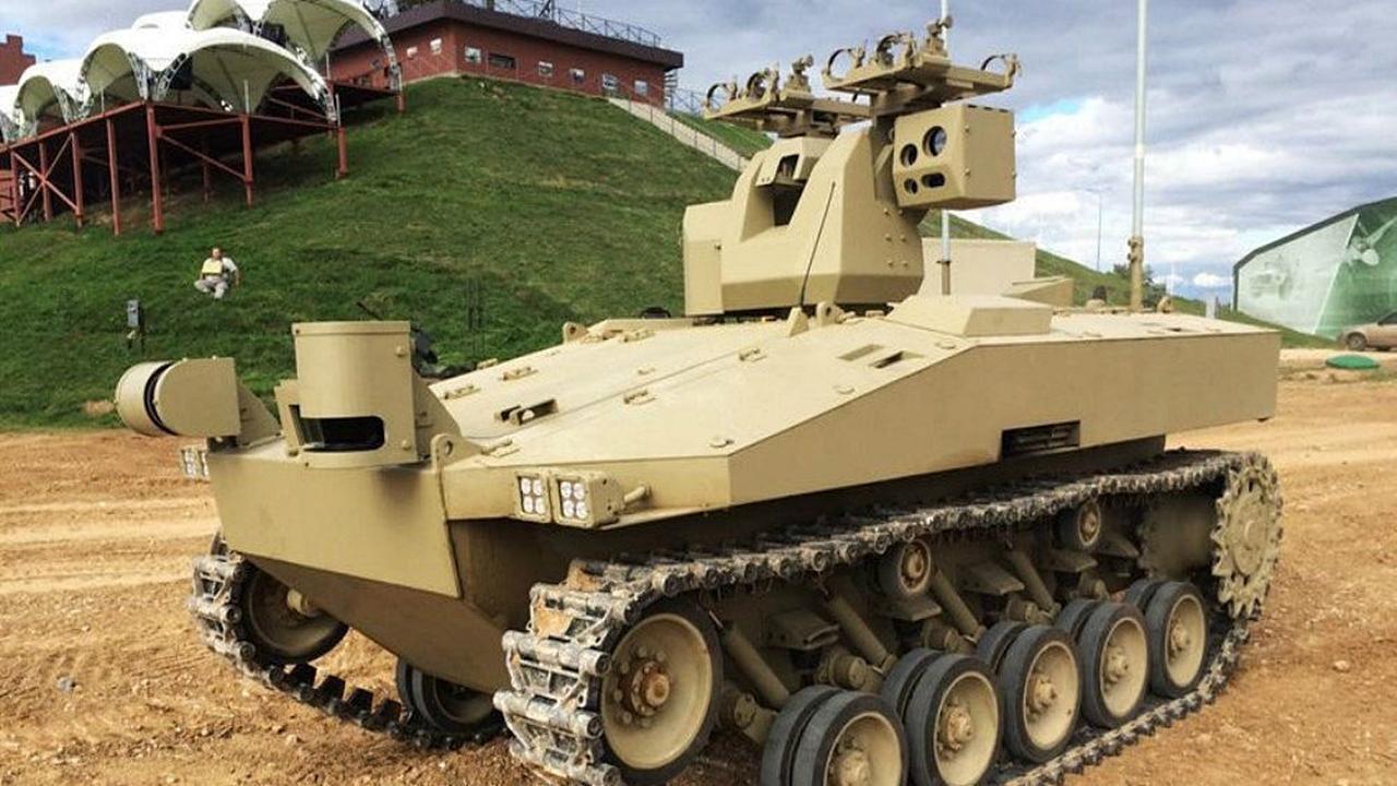 Zırhlı robotik araçlar