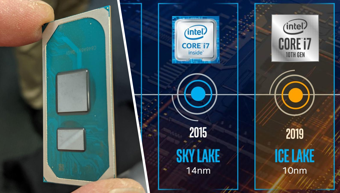 Intel introduces the tenth generation of Ice Lake laptop