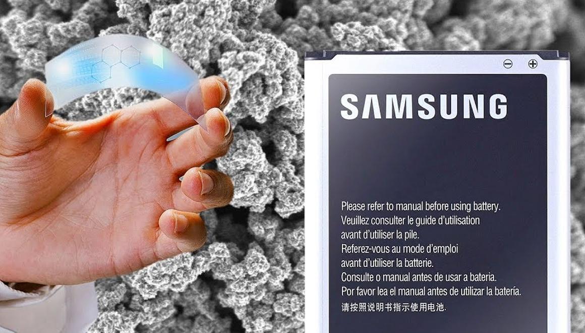 Samsung'dan grafen bataryalı telefonlar geliyor!