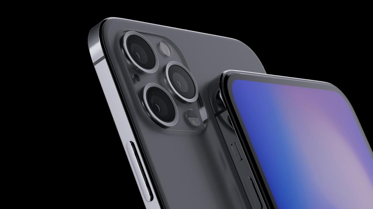 2020 iPhone için çentiksiz tasarım iddiaları!