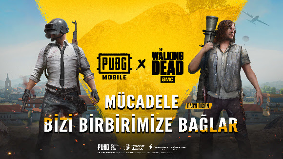 pubg mobile the walking dead