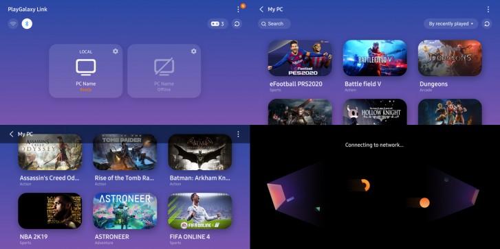 Samsung PlayGalaxy Link beta sürümü yayınlandı