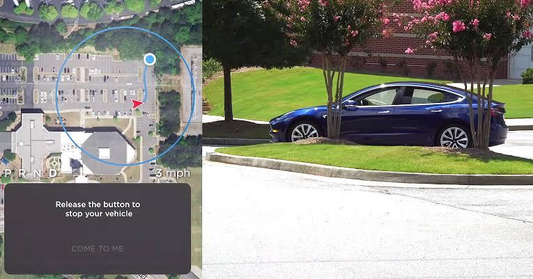 Tesla araçlar kullanıcılarının yanına otonom olarak gelebilecek