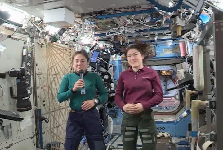 Christina Koch ve Jessica Meir ilk kadın uzay yürüyüşünü gerçekleştirecek