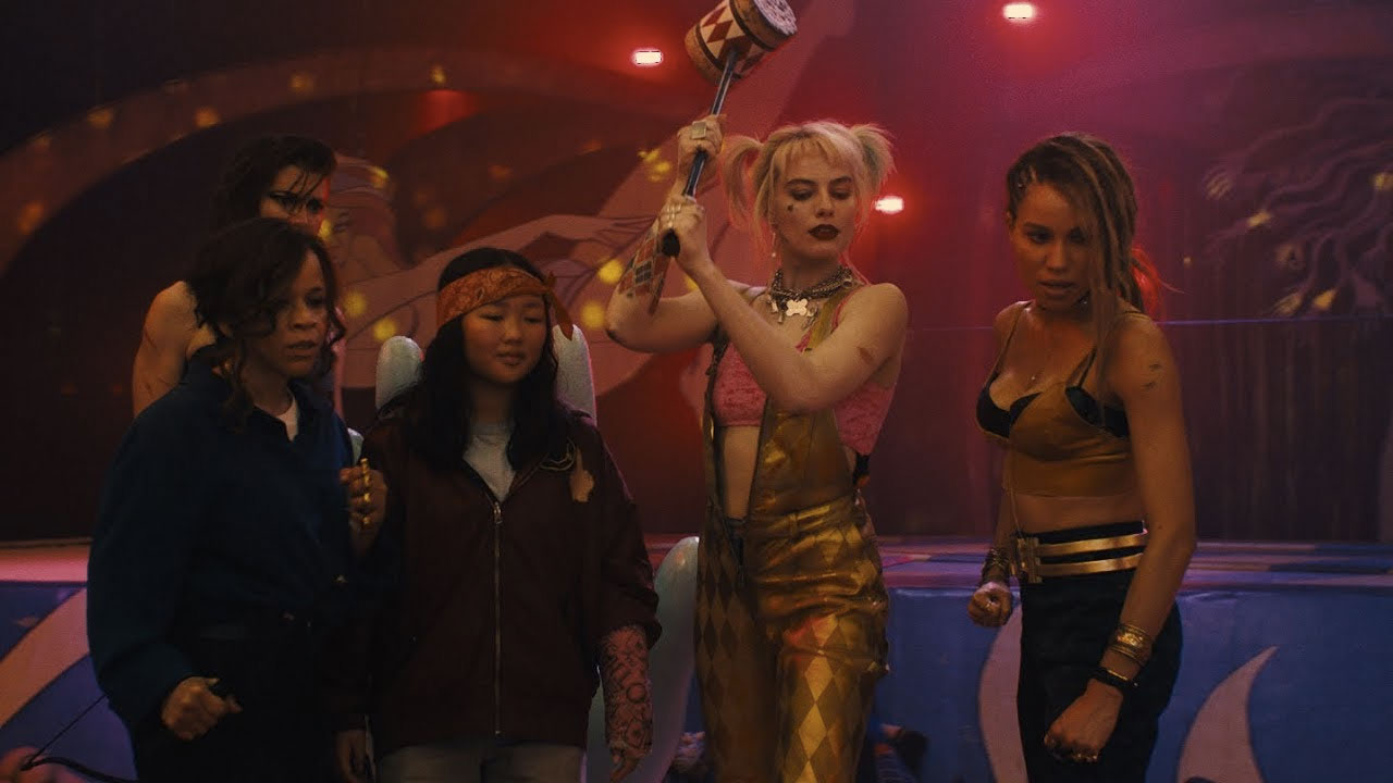 Harley Quinn'li Birds of Prey filminden ilk fragman geldi!