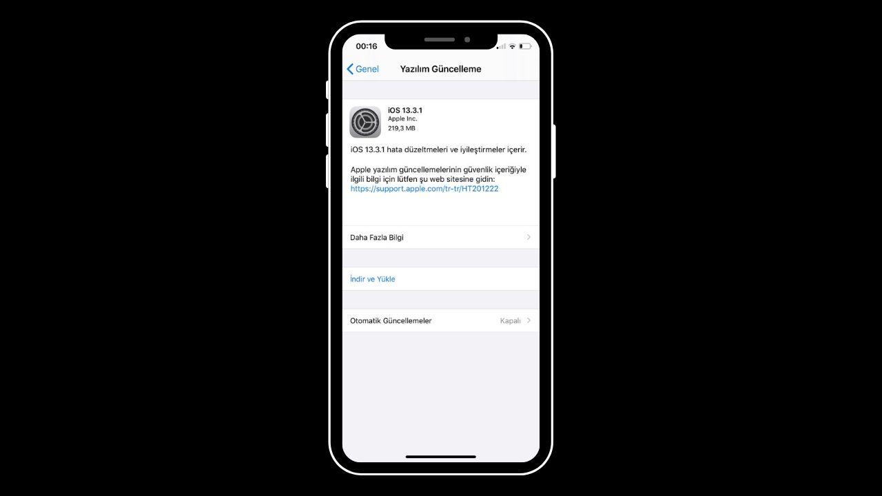 Apple cihazlar için iOS 13.3.1 güncellemesi yayınlandı! - ShiftDelete.Net (1)