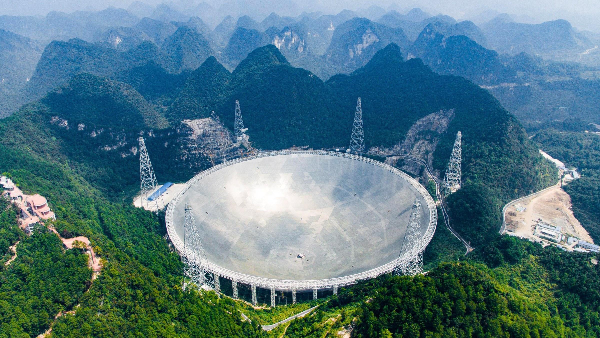Dünyanın en büyük teleskobu FAST iş başında - ShiftDelete.Net