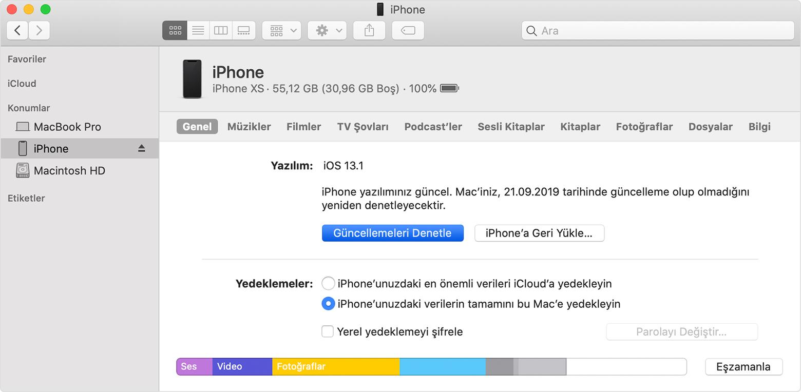 iOS 14 temiz kurulum