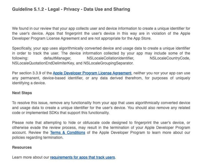 Apple will improve user privacy with iOS 14.5