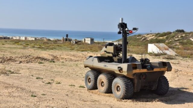 İsrail'den Filistin sınırına makineli tüfekli robot hamlesi