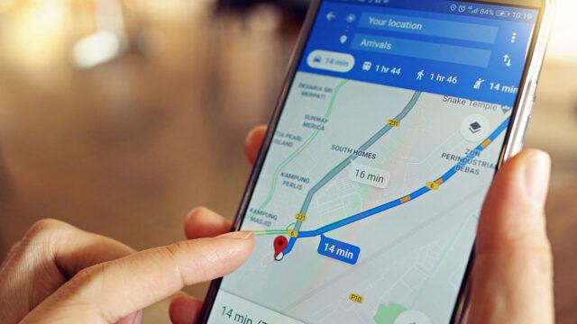 Google Haritalar'dan sürücülere emisyon uyarısı